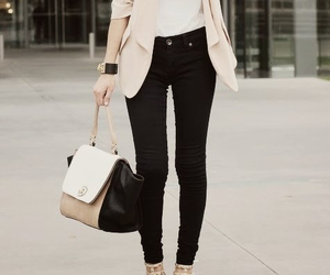 outfit, bag, and casual image