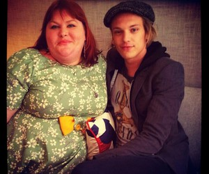 Jamie Campbell Bower, books, and jace image