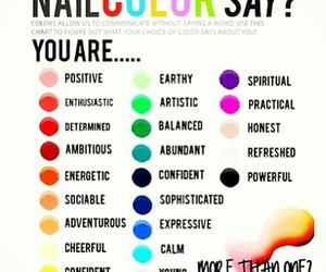 nails, color, and colors image