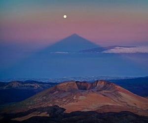 luna, moon, and tenerife image