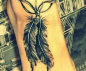ink, plumage, and tattoo image