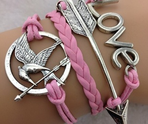 bracelet, love, and arrow image