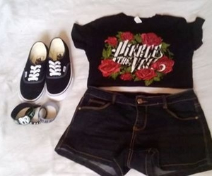 fashion, outfit, and pierce the veil image