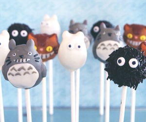 totoro, food, and sweet image