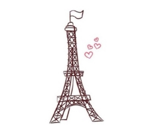 overlay, paris, and eiffel tower image