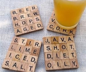 diy and scrabble image