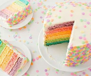cake, cute, and colour image