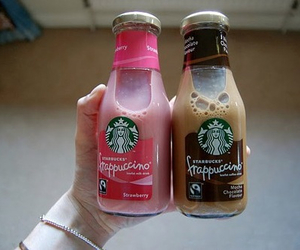 starbucks, drink, and frappuccino image