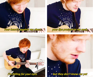 kiss me and ed sheeran image