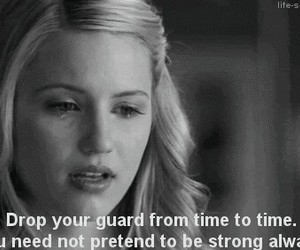 glee, quote, and cry image