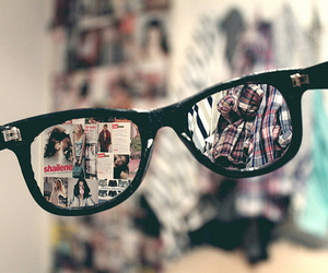 glasses, photography, and hipster image