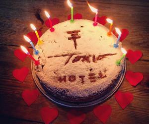 anniversary, bands, and birthday cake image