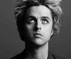 billie joe armstrong, black&white, and green day image