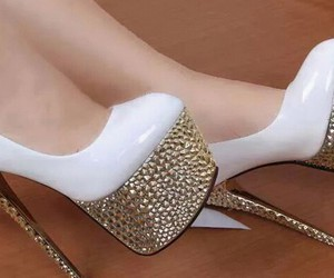 chic, glam, and shoes image