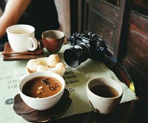 coffee, camera, and food image