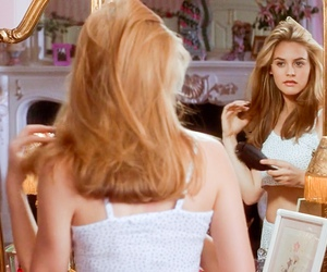 Clueless, alicia silverstone, and hair image