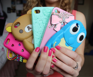 iphone, cases, and girl image