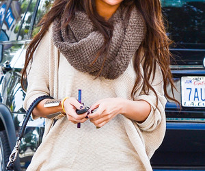 fashion, girl, and selena gomez image