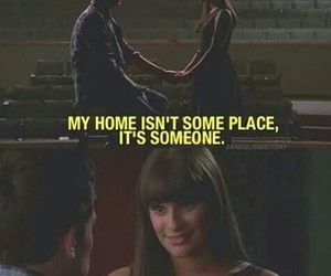 glee, memories, and leamichele image
