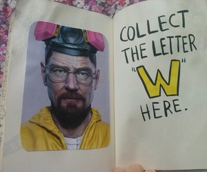 breaking bad, keri smith, and wreck this journal image