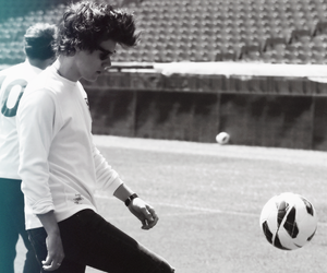 Harry Styles, one direction, and football image
