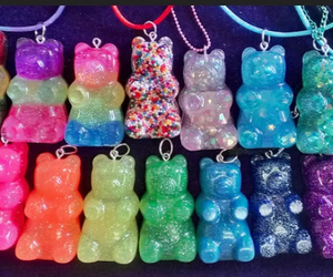 bears, blue, and colorful image