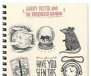 harry potter, hipogrifo, and scabbers image