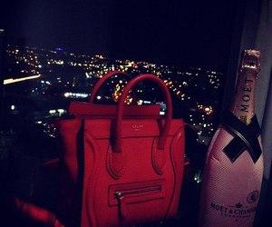 bag, night, and city image