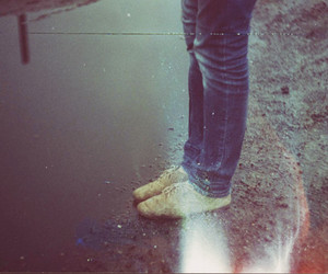 jeans, mud, and oxford image