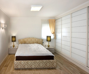 bedroom., private spot, and comfortable feeling image