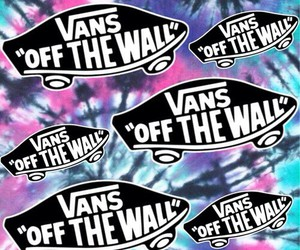 background, vans, and vans of the wall image