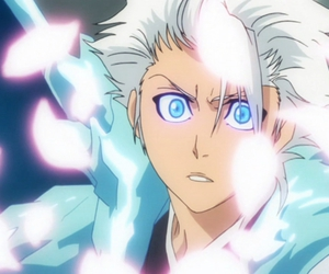anime, bleach, and blue eyes image