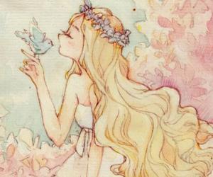 anime, sweet, and art image