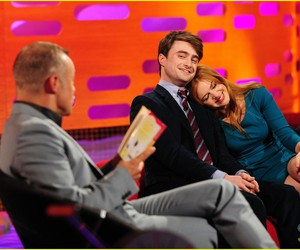 daniel radcliffe, isla fisher, and tv show image