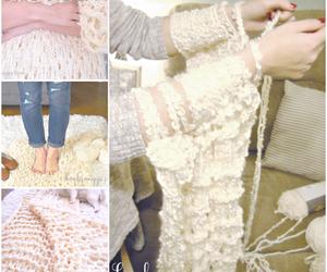 diy, blanket, and handmade image