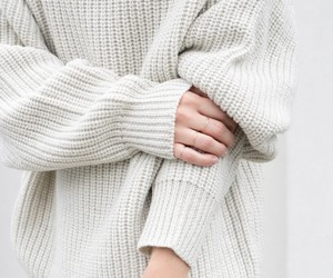 fashion, sweater, and white image