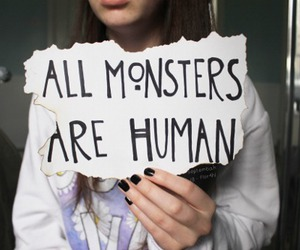 monster, humans, and true image