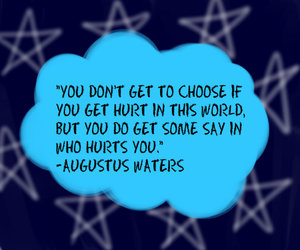 quote, tfios, and the fault in our stars image
