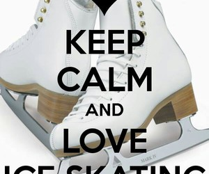ice, skate, and love image