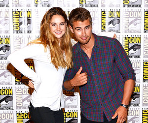 divergent, Shailene Woodley, and four image