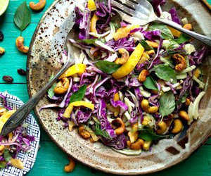 nuts, salad, and cashews image