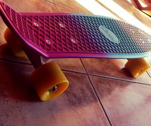 mini, penny, and skate image