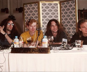 dave mustaine, megadeth, and nick menza image