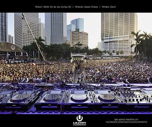 dj, ultra music festival, and ufm image