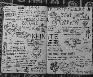 diary and infinite image