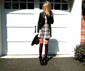 black, hipster, and blonde image
