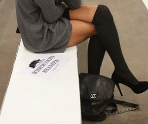 chanel, inspiration, and black legs image