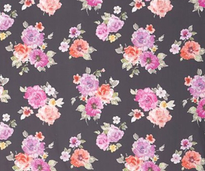 floral, tumblr, and wallpaper image