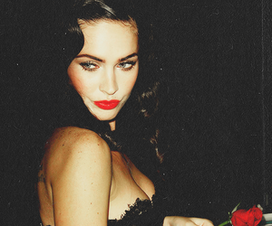 megan fox, sexy, and red image