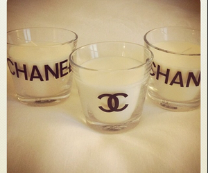 candles and chanel image